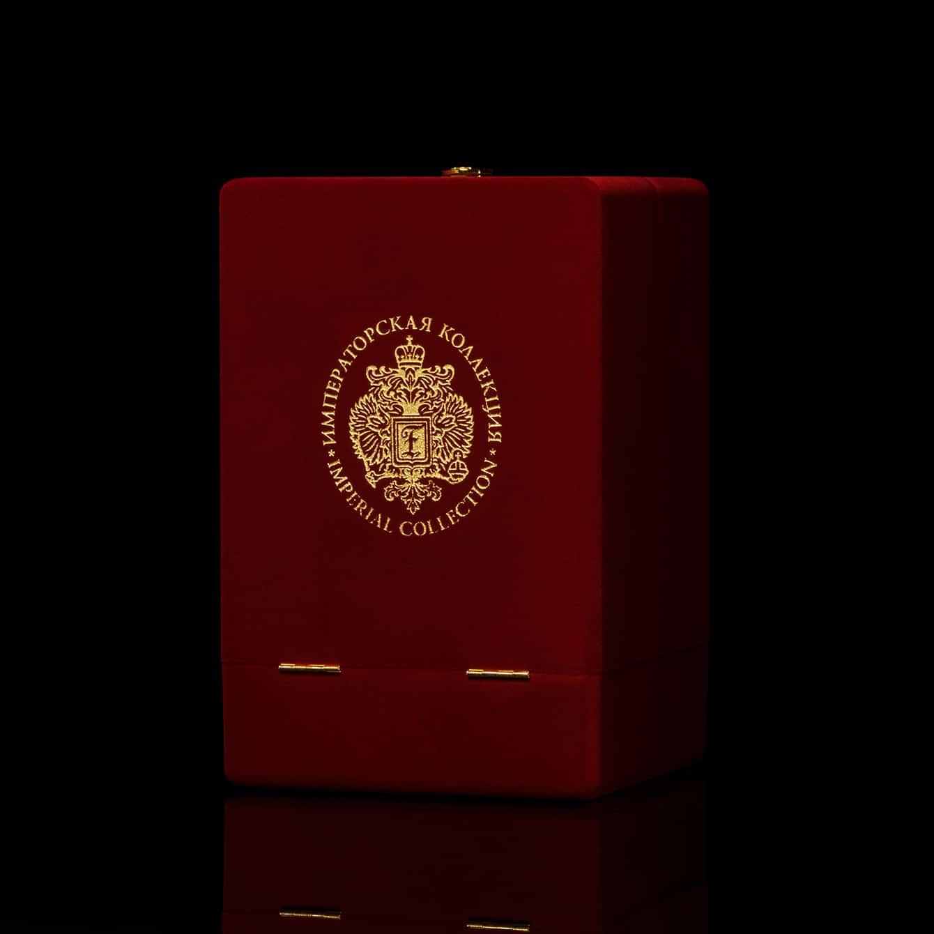 インペリアルコレクション ウォッカ ルビー  クリスタル